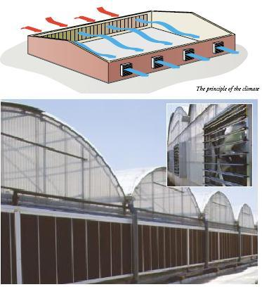 cooling principle greenhouse